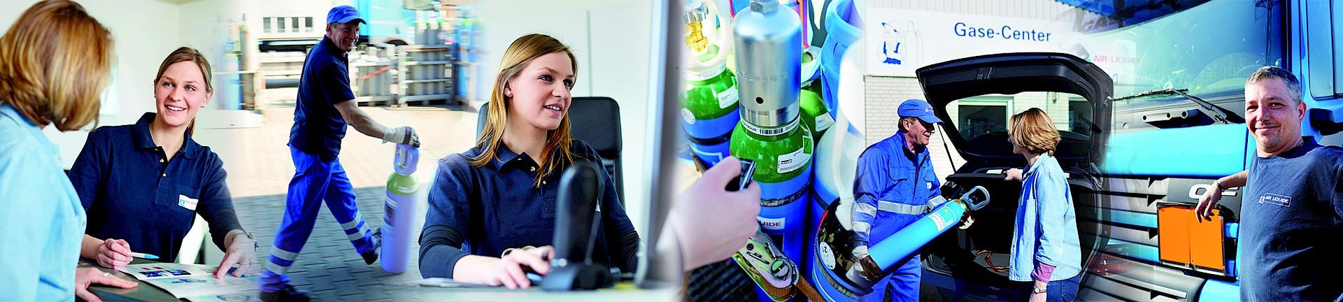 Gase - Air Liquide in Deutschland - HUSTER SPEDITION